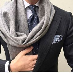 Scarves and suits