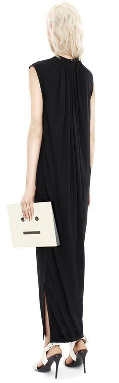 Bree tencel dress - Acne