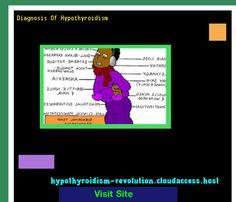 Diagnosis Of Hypothyroidism 121933 - Hypothyroidism Revolution!