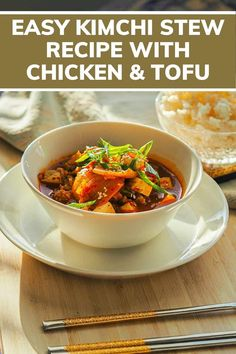 Looking for the best kimchi stew recipe with chicken and tofu ? kimchi stew recipe, kimchi jjigae, kimchi stew, kimchi jjigae recipe, jjigae recipe, kimchi chigae recipe, kimchi tofu stew, tofu kimchi soup, korean kimchi stew, kimchi chicken stew, korean food recipes #easyrecipe #dinnerrecipes #cookingforone #30minutemeals #singleserving #recipeforone #foodrecipes #onedishkitchen