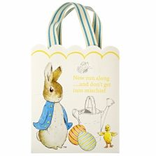 The 70 best easter images on pinterest easter ideas pottery barn peter rabbit single easter paper gift bag negle Gallery