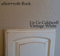 Kitchen's Final Test Cabinet Door (using chalk paint) Chalk Paint Kitchen Cabinets, Old Cabinets, Kitchen Cabinet Design, Kitchen Redo, Kitchen Cupboards, Kitchen Ideas, Kitchen Remodel, Refurbished Furniture, Painted Furniture