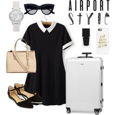 A fashion look from May 2016 featuring Chicsense dresses, Accessorize flats and Michael Kors tote bags. Browse and shop related looks.