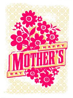 Mother's Day / Happy Mother's Day / Holiday Cards from L2 Design Collective