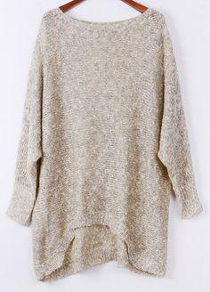 Long Asymmetric Sweater