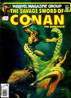 Savage Sword of Conan #81