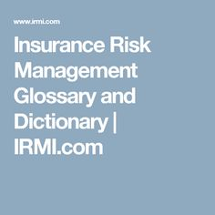 Risk Management and Insurance how to write essays
