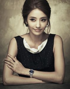 Han Chae Young Cha Seung Won Emporio Armani Watch Ad Campaign 4