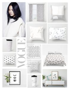 """""""scandinavian"""" by zpeale ❤ liked on Polyvore featuring interior, interiors, interior design, home, home decor and interior decorating"""