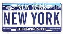 """Show everyone that you're in charge with the -Godfather NY License Plate!- This replica New York State license plate has """"Godfather"""" written coldly across the center. Sweet 16 Masquerade, The Godfather, Plates On Wall, School Projects, Cool Pictures, New York, Lettering, How To Plan, Licence Plates"""
