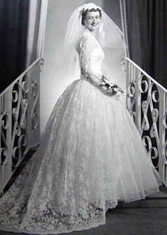 Vestido de Novia Vintage MODA Y VINTAGE Pinterest Wedding