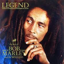 Bob Marley album cover - Favorite reggae artist