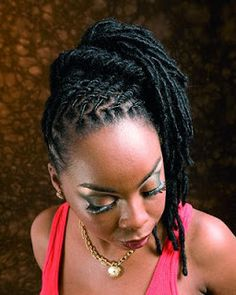 Kinky Hair All about locs Dreadlock Styles, Dreads Styles, Braid Styles, Natural Hair Twists, Pelo Natural, Natural Hair Styles, Natural Beauty, Natural Dreads, Dreadlock Hairstyles