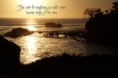 Shell Beach, CA, quotes