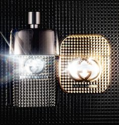 Dripping with sex appeal, this studded bottle of Gucci's sexy Guilty fragrance is a gorgeous collectible that will appeal to your inner punk rocker.