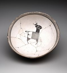 Ceramic Bowl, c. 1000-1150 AD - American Indian - Ceramic, Slips