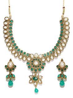 VVS Jewellers Indian Bollywood Gold Plated Green Stone Pe... https://www.amazon.com/dp/B07143QF5N/ref=cm_sw_r_pi_dp_x_6k-hzbH772N0Y