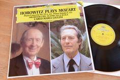 HOROWITZ plays Mozart GIULINI LP DGG DIGITAL 423 287-1 nm-mint