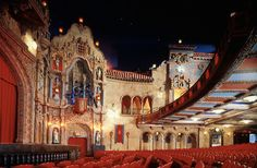 """Historic Tampa Theatre; I saw """"Psycho"""" here..."""