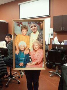 Found my #Halloween costume. Golden Girls 4-Ever. @Tina Walters
