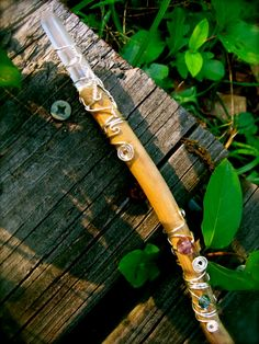 Gentle Healing Willow Wand by EireCrescent on Etsy, $19.99