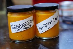 Kick Ass Habanero Hot Sauce Recipe- we're growing Habanero's this year. Grew some 2 years ago & hubby made a sauce incl. carrots (like this one) that he loved.
