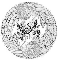 Japanese Dragon Coloring Pages | Dragon Tattoo Coloring Design ...