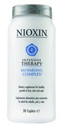 Nioxin Intensive Therapy Recharging complex 30 caplets    I swear by this for hair growth