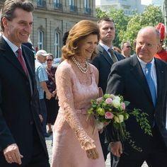Queen Silvia in Stuttgart  #drottningsilvia #queensilvia #queensilviaofsweden #kungahuset #sverigeskungahus #kungafamiljen