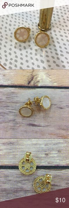 Simply Chic Round Earrings Simply Chic Round Gold earrings. Brand new in packaging. Nickel and lead free Bchic Jewelry Earrings