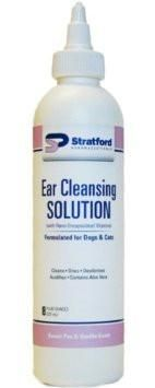Stratford Ear Cleansing Solution Sweet Pea & Vanilla Scent - 12 fl. oz.