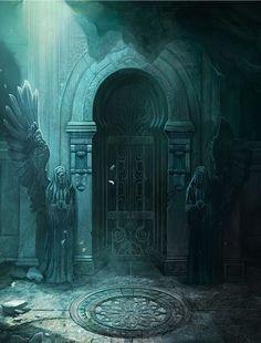 36 Ideas Dark Fantasy Landscape Ruins For 2019 Dark Fantasy, Fantasy Magic, Fantasy World, Fantasy Landscape, Landscape Art, Castlevania Lord Of Shadow, Medieval, Lord Of Shadows, Fantasy Kunst