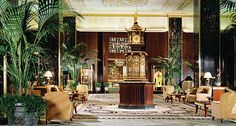 This Art Deco landmark has welcomed every U.S. president since Herbert Hoover, who became a permanent resident after his tenure in office.  The# Waldorf=Astoria Hotel, #Historic Hotels in New York, New York