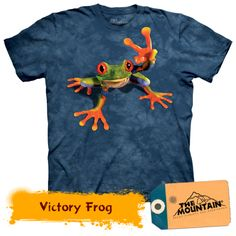 Peace Frog T-shirt Tie Dye Adult Tee Wildlife Shirts Animal T-Shirts Tee Peace Frog T-shirt Tie Dye Adult Tee Officially Licensed Available in Small, Frog T Shirts, 3d T Shirts, Kids Shirts, Oeko Tex 100, Tree Frogs, Textiles, Graphic Tees, Just For You, Sweatshirt