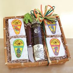 California Delicious Sonoma Creamery Cheese Sampler Gift Basket - http://www.specialdaysgift.com/california-delicious-sonoma-creamery-cheese-sampler-gift-basket/