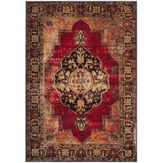 Found it at Wayfair - Byron Red Area Rug
