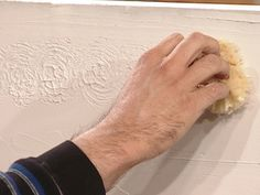 Adding Texture to Walls: You can also use a sponge with drywall compound to create textured designs. From DIYnetwork.com