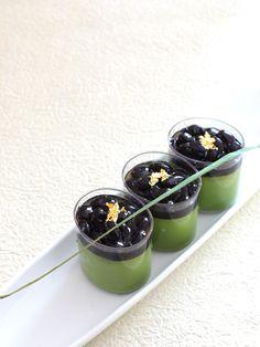 Japanese sweets / 抹茶のもっちり濃厚プリン