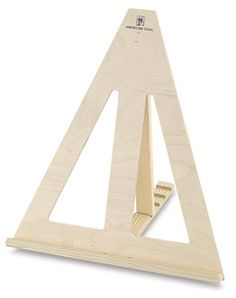 how to make a tabletop easel for painting - Google Search