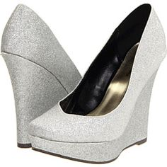 Love the shape of these wedges!  So feminine! Michael Antonio knows how to do it