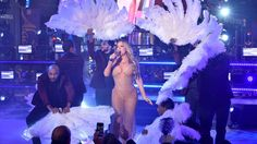 Mariah Carey's Rep Blames Technical Difficulties for Awkward New Year's Eve Performance #Entertainment_ #iNewsPhoto