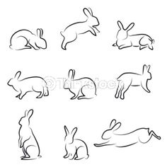 You know if you ever need to draw a bunny...
