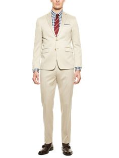 Mabry Solid Suit by Calvin Klein White Label on Gilt.com