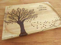 Svatava / Tácka na zákusky 50x30cm Wood Crafts, Handmade, Leather, Hand Made, Wood Turning, Craft, Woodwork, Woodworking Projects, Handarbeit