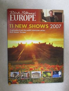 Rick Steves' EUROPE 11 New Shows 2007 - Excellent Condition by WhimseysByAnne on Etsy