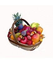 Exotic Fruit Baskets Delivered Across London Growing Tomatoes, Growing Vegetables, Fruit Baskets Delivered, Determinate Tomatoes, Tomato Seedlings, Apple Pear, Fruits Basket, Fruit In Season, Fruit And Veg