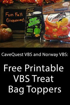 Free Printable VBS Treat Bag Toppers! Print out, attach to baggies with treats and hand out to kids! #groupvbs