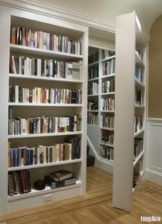 I would love a place to put my books!