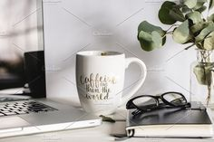 Coffee First by TinaThelen Photography on @creativemarket