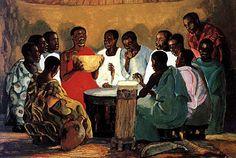 The Life of Jesus Christ: An African Interpretation by the Mafa People in Cameroun African American Art, American Artists, African Art, Art Black Love, Life Of Jesus Christ, Black Jesus, Prophetic Art, Biblical Art, Black Artwork